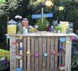 Diy Ideen Garten Einzigartig Party Decoration Ideas Diy Diy Pallet Tiki Bar for Garden