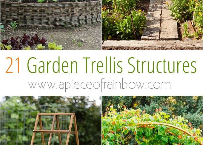 Diy Ideen Garten Frisch 21 Easy Diy Garden Trellis Ideas & Vertical Growing