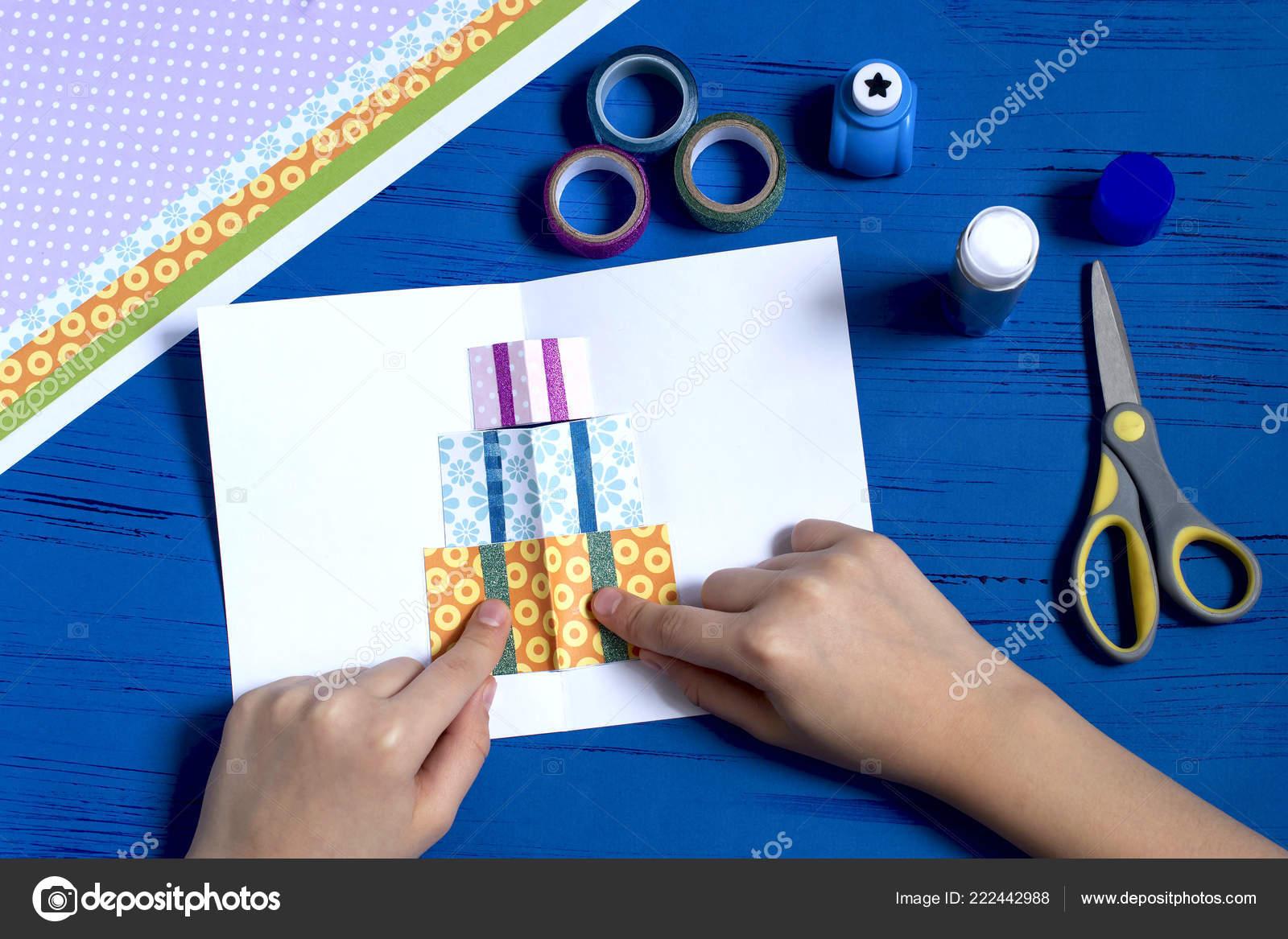 depositphotos stock photo child makes card ts christmas