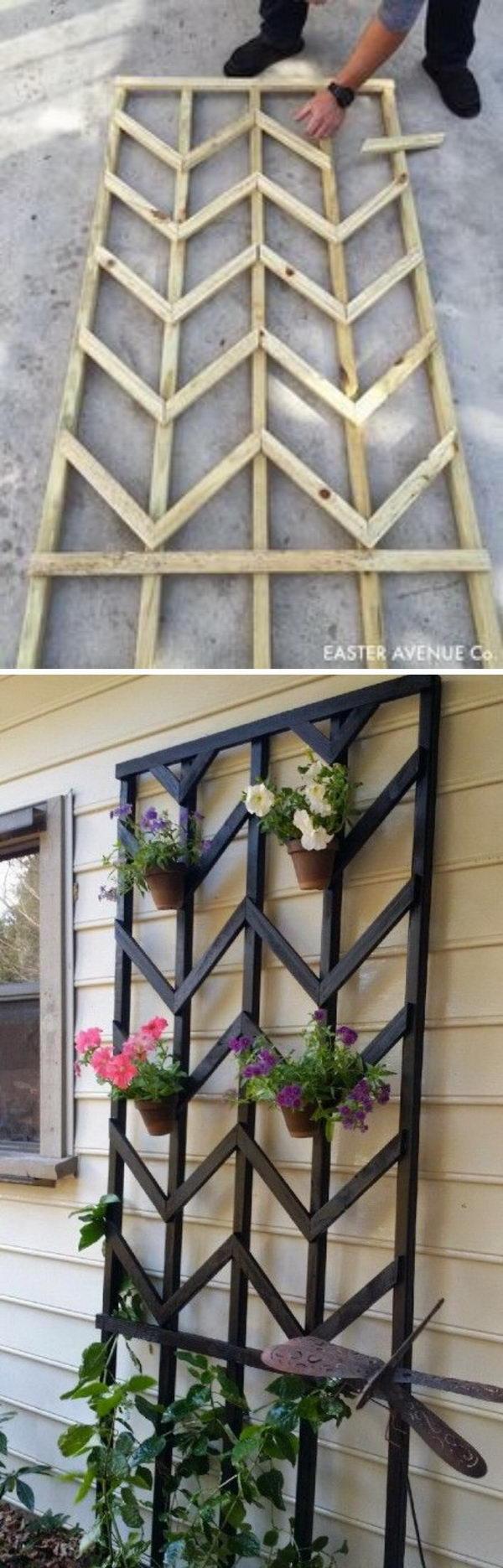 5 garden trellis diy ideas tutorials