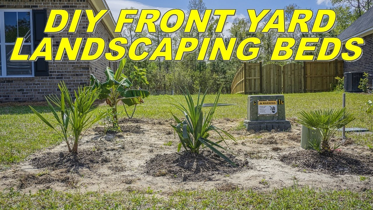 Do It Yourself Garten Einzigartig Diy Front Yard Landscaping Beds Do It Yourself and Save