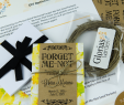 Do It Yourself Garten Einzigartig Diy Yellow Floral Memorial for Me Not Seed Packet Package
