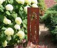 Edelrost Figuren Garten Inspirierend Rm Design Gartendeko Gartenstecker Aus Edelrost Metall