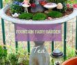 Einfache Gartenideen Schön Fountain Fairy Garden Brunnen Feengarten Fuente De Jardn De