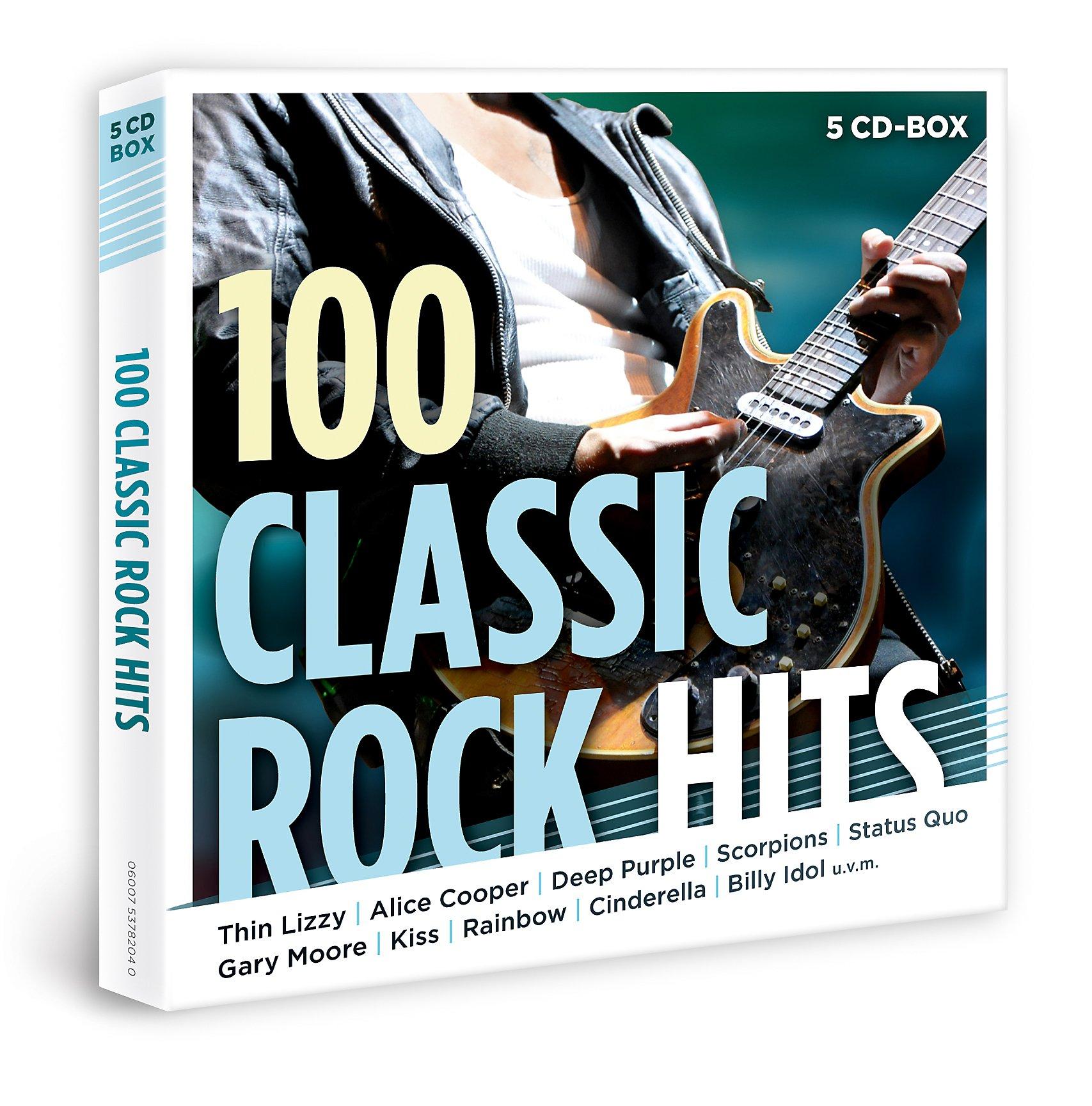 100 classic rock hits exklusive 5cd box