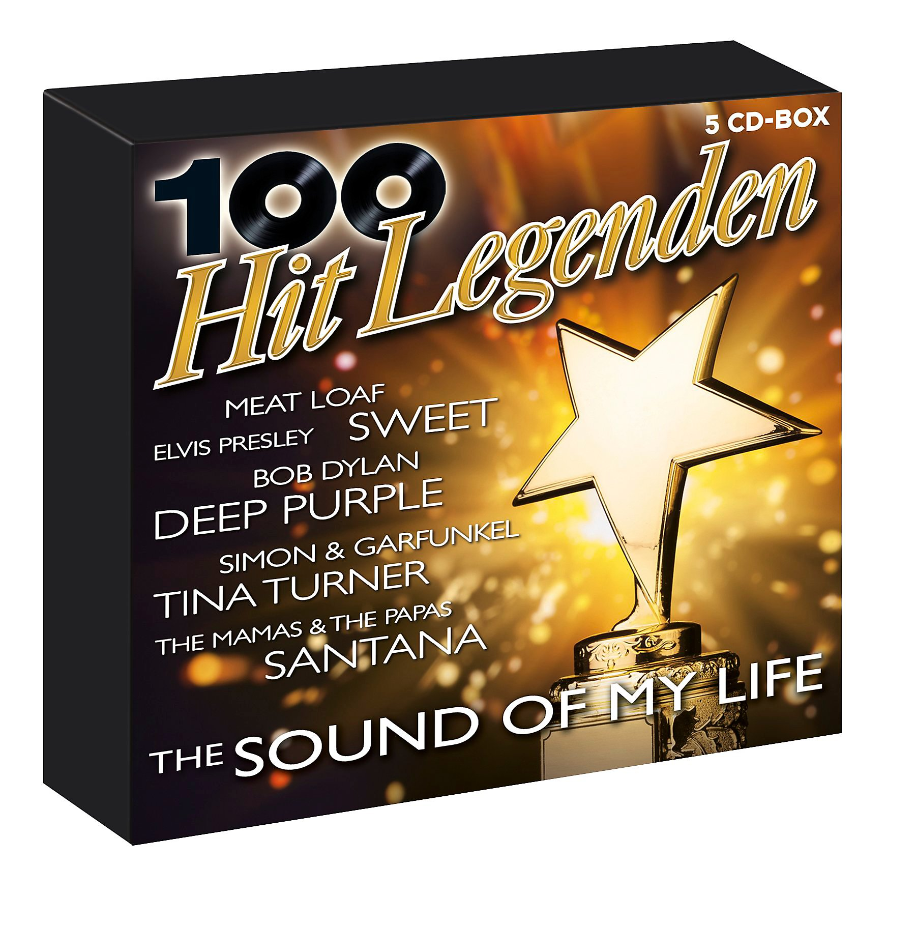 100 hit legenden the sound of my life exklusive 5cd