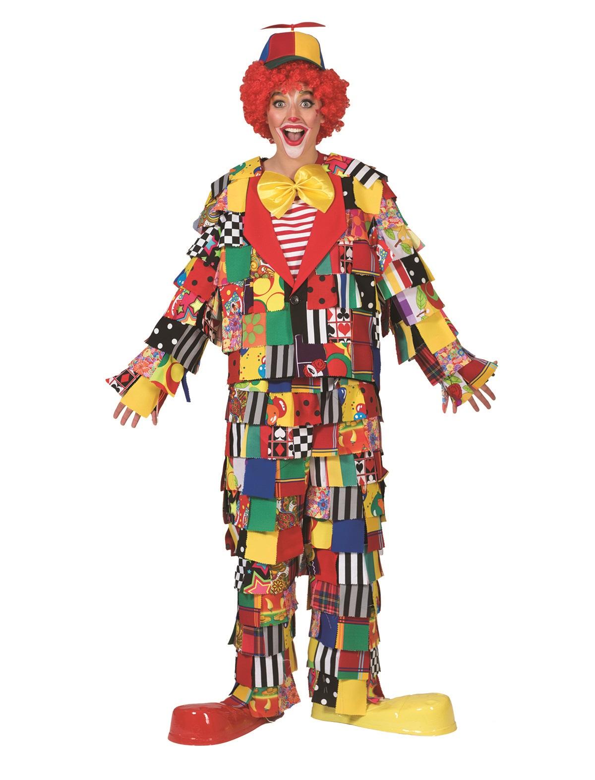 Karneval Kostueme Fasching Clowns Lappenclown bunt Dame Herr1mzrfGj0MctRTKqsNJy602rFzsR