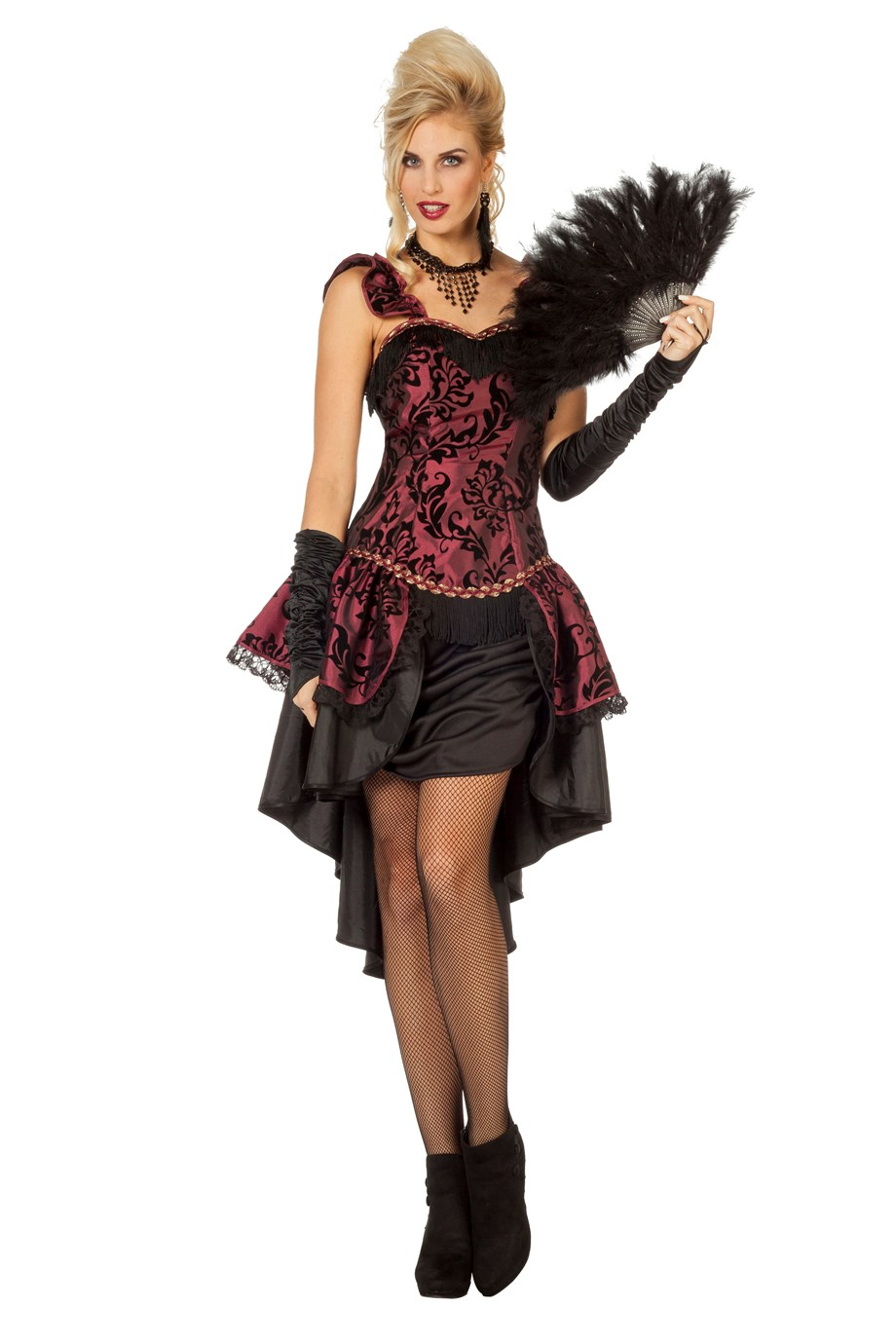 Burlesque Cancan Kleid