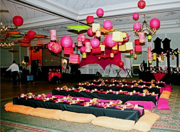 Hütte Party Idee