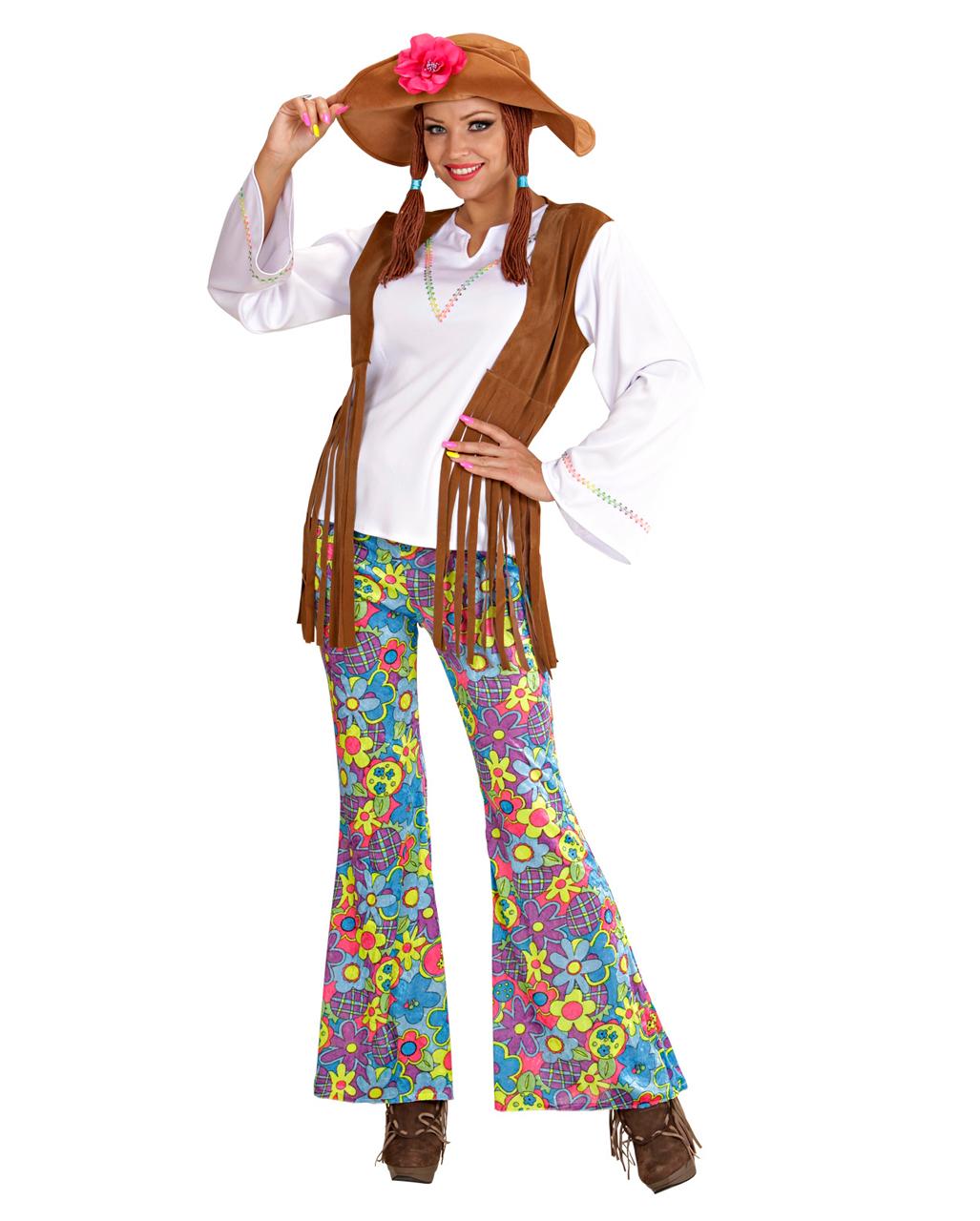 hippie frauen kostuem gr xl