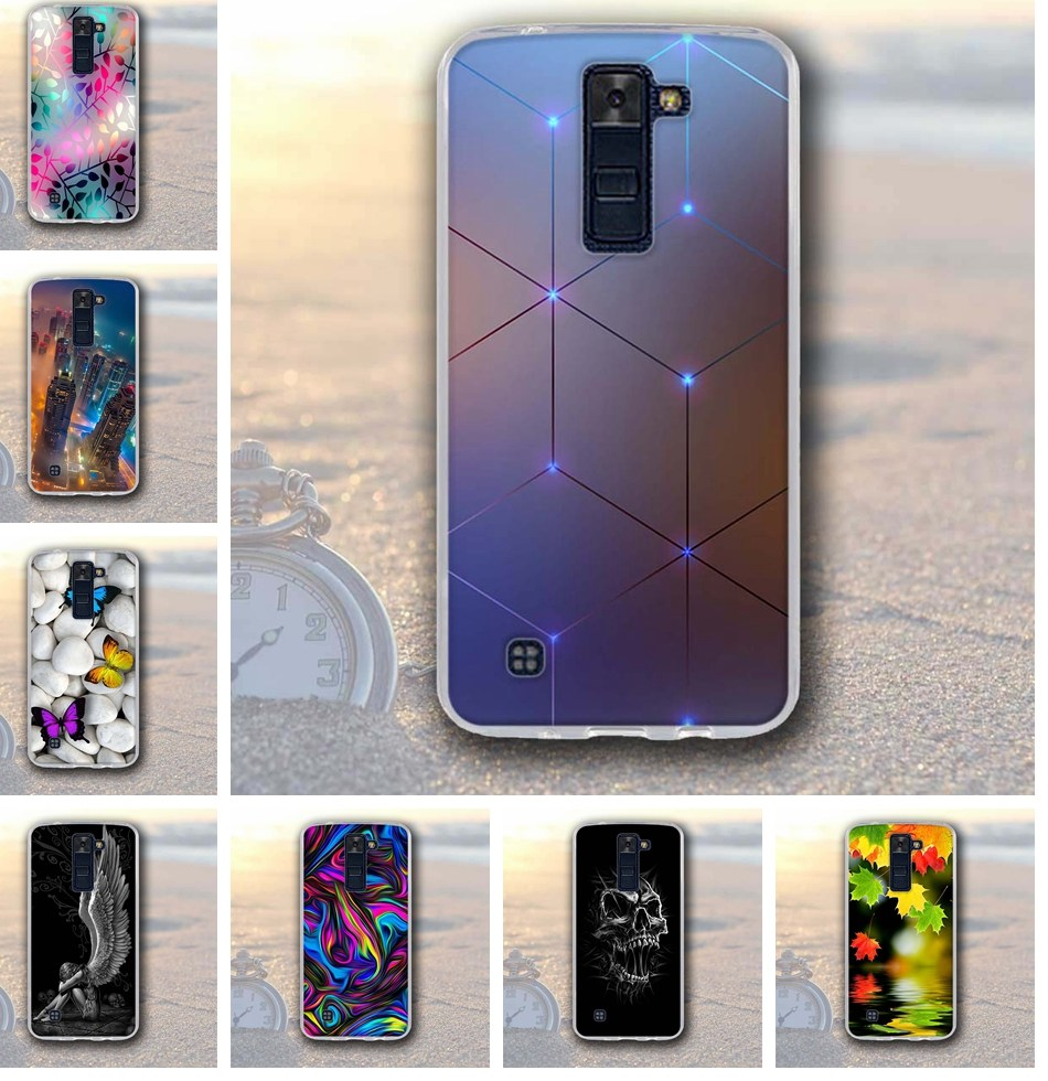 Luxury Silicone font b Case b font For font b LG b font K8 K350N K350DS