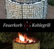 Gabionen Gartengestaltung Frisch Feuerkorb