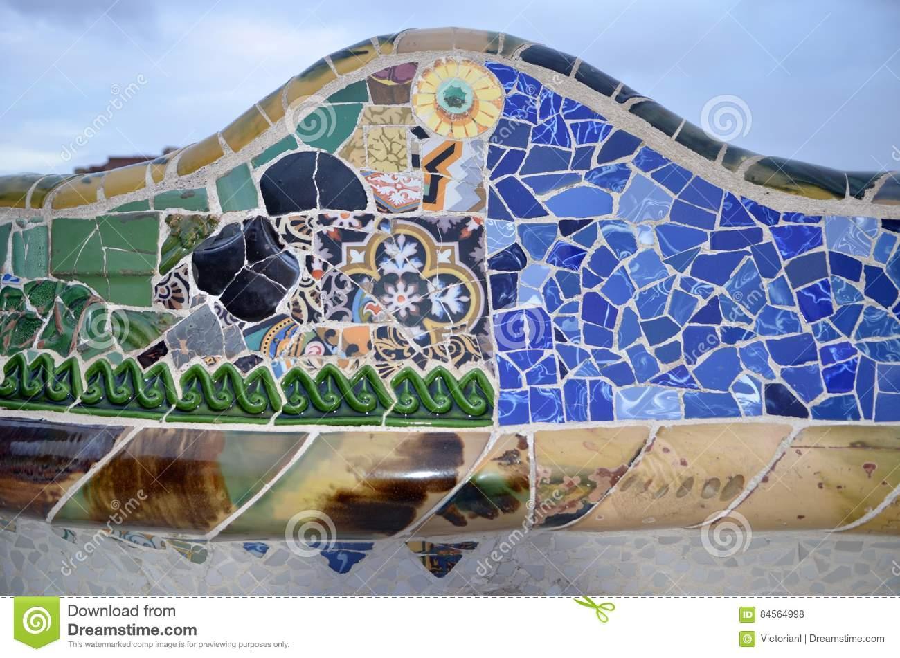 库存照片 停放gã 侧房, 塞罗那,卡塔龙尼亚,西班牙 image