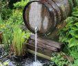 Garten Deko Einzigartig Water Feature In Garden Holzfass Ideen