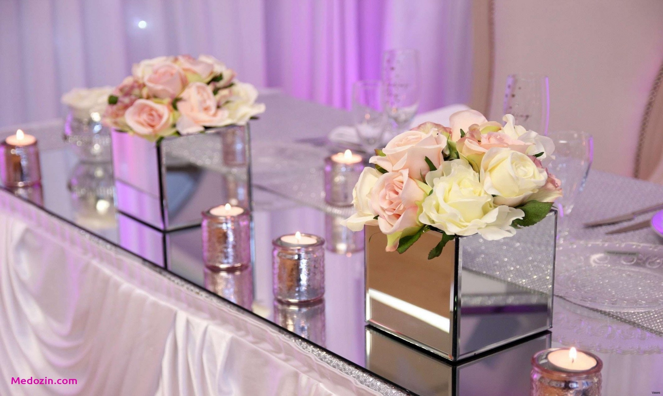 wedding table decorations mirrored square vase 3h vases mirror table decorationi 0d of wedding table decorations