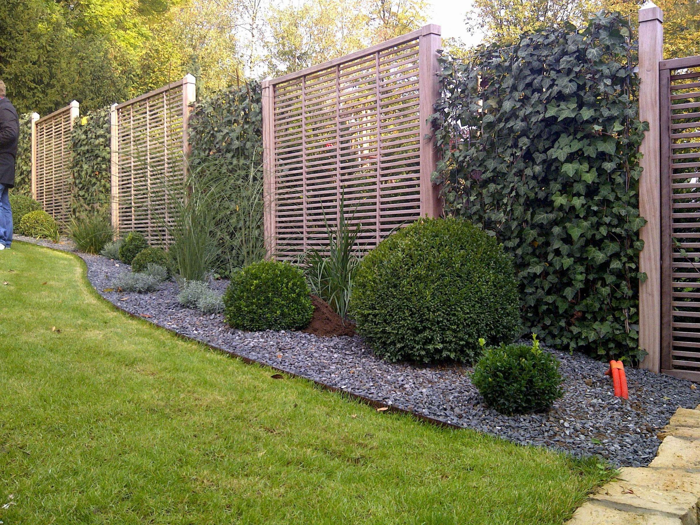 7 Luxus Garten Ideen Sichtschutz  Garten Deko