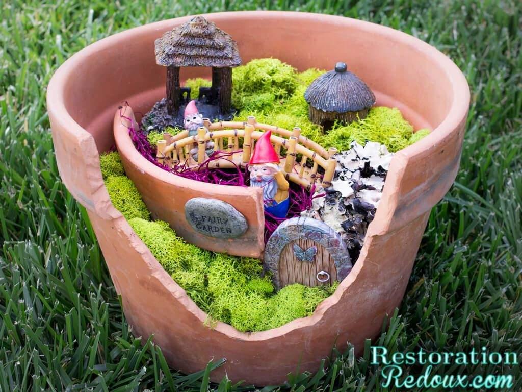 diy garten inspirierend diy flower pot fairy garden craft of diy garten