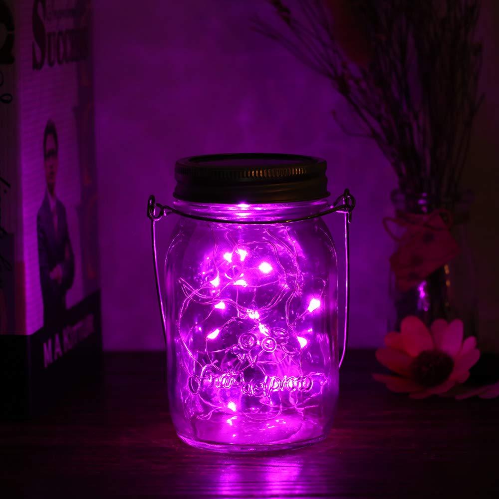 Garten solar Deko Neu Walmeck solar Mason Jar Lights Led Fairy Light Insert Garden Decor Lamps