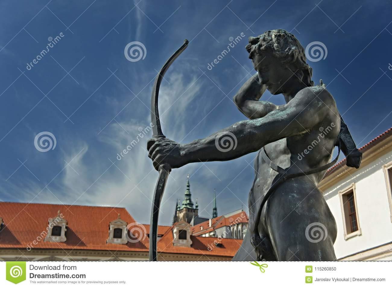 statue apollo waldstein garden mala strana prague senate statue apollo waldstein garden mala strana prague house