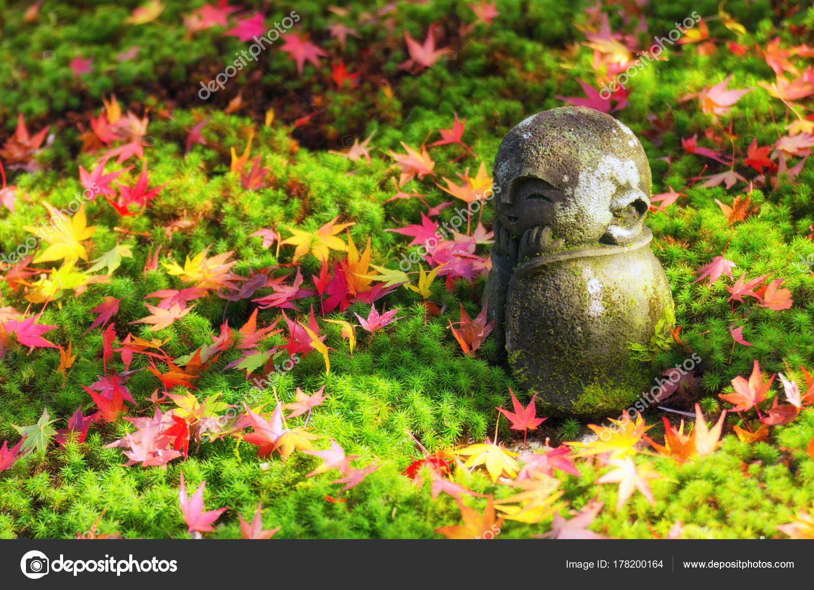 Garten Statue Best Of Traditional Small Smiling Stone Statue Jizo Buddha Monk