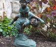 Garten Statue Genial Alpine Girl Jumping Over Boy Garden Statue