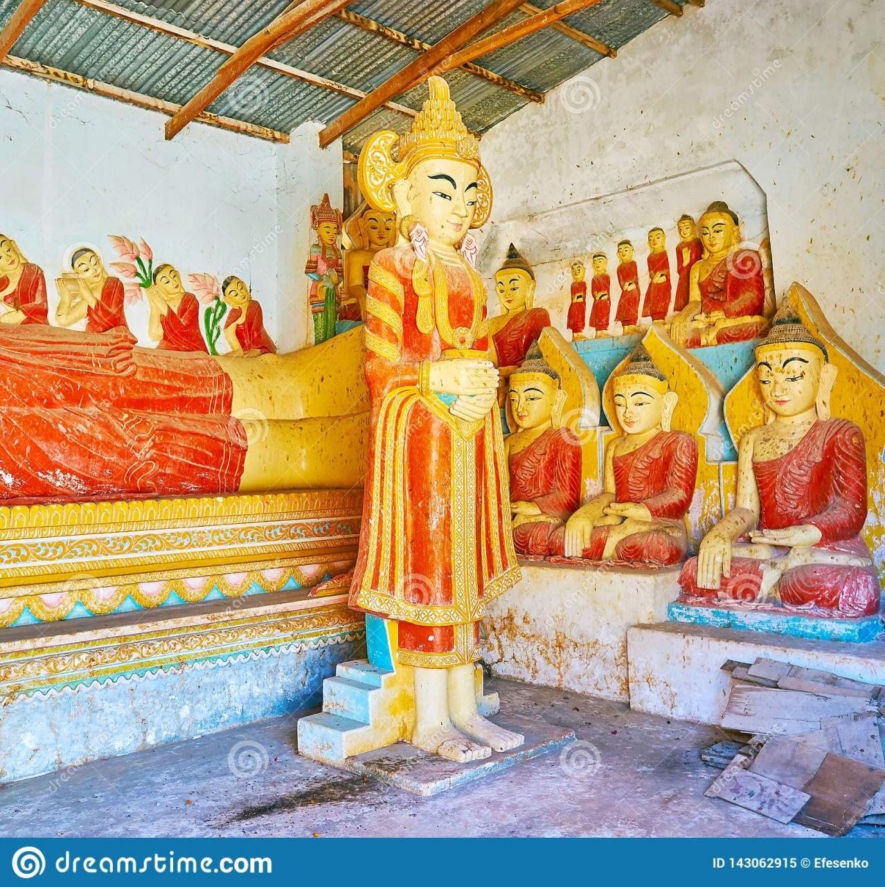buddha statue garden the beautiful statues in od shrine kan tu kyaung of buddha statue garden