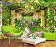 Garten Wandgestaltung Luxus Us $8 85 Off Beibehang Tapete Für Wände 3 D Große Eigene Tapete Garten Blume Foto Tapete 3d Wohnzimmer Das Schlafzimmer Tv Wand Papier In Tapeten