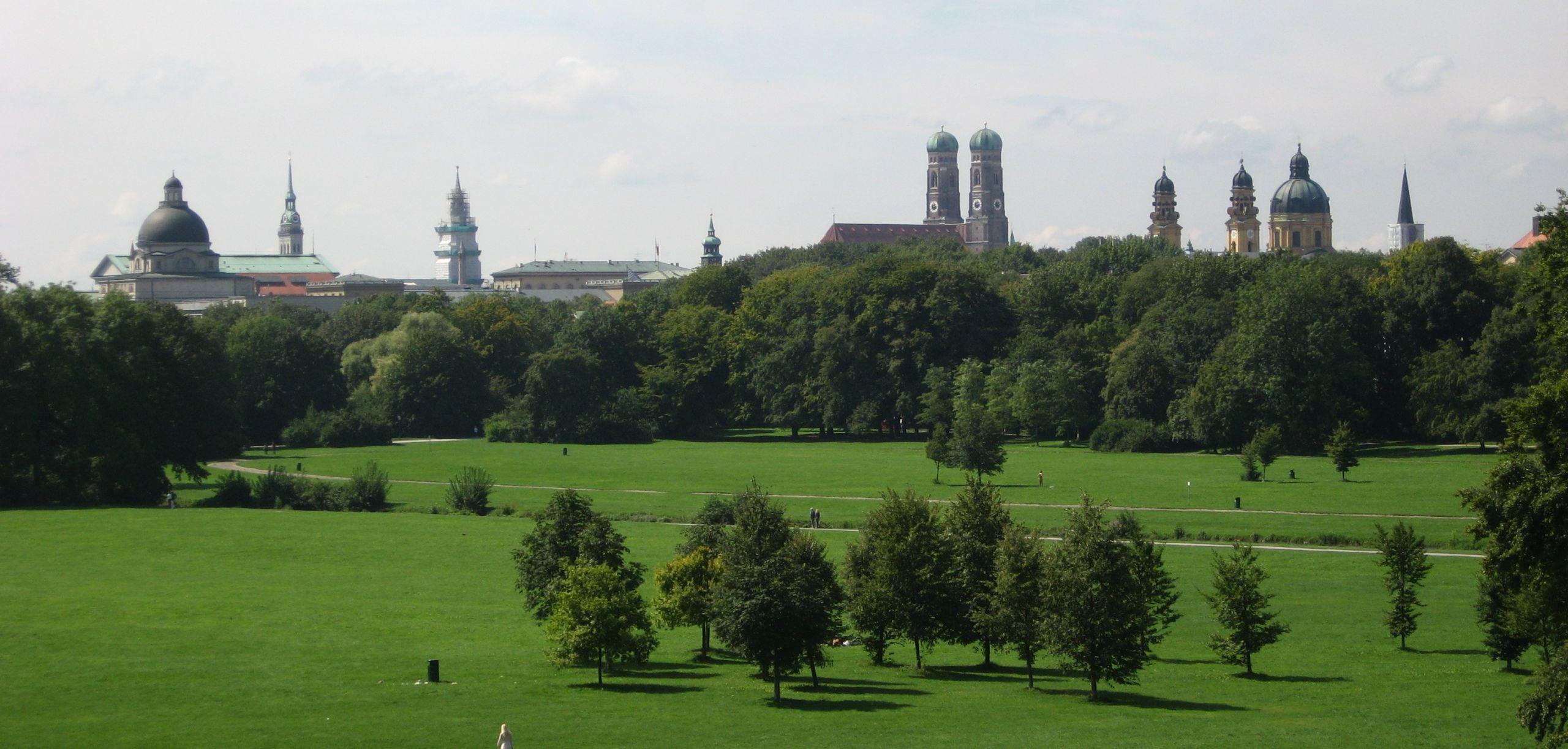Englischer Garten from Monopteros JPG
