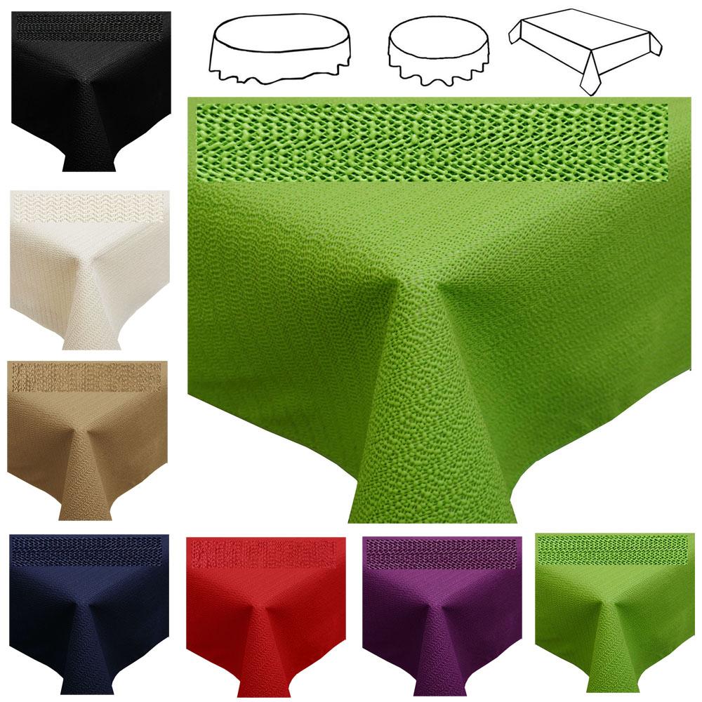 tischdecke garten 0gdr restposten tischdecke wetterfest d c table abwaschbar garten