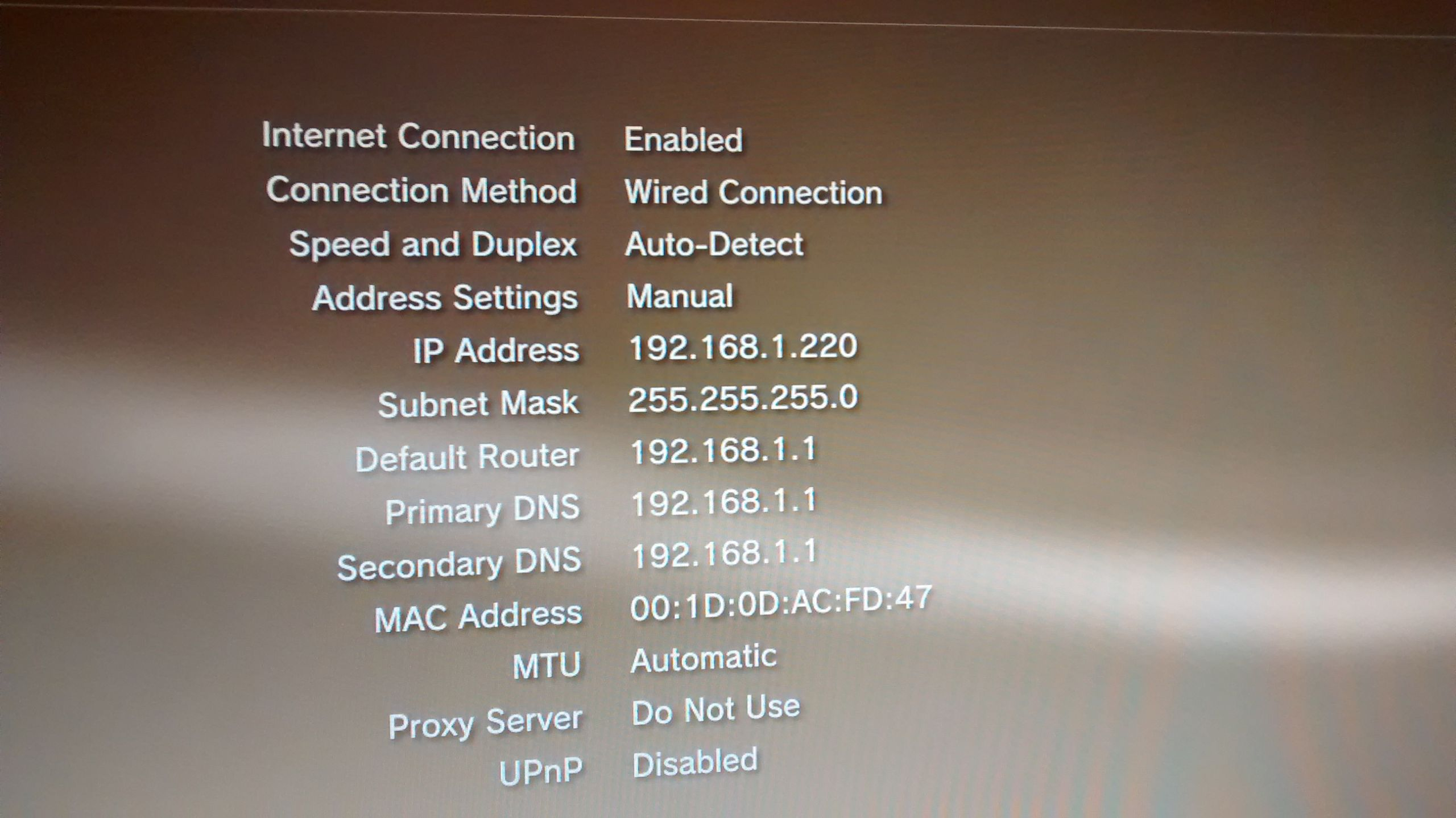 what is my ps3 ip address 2