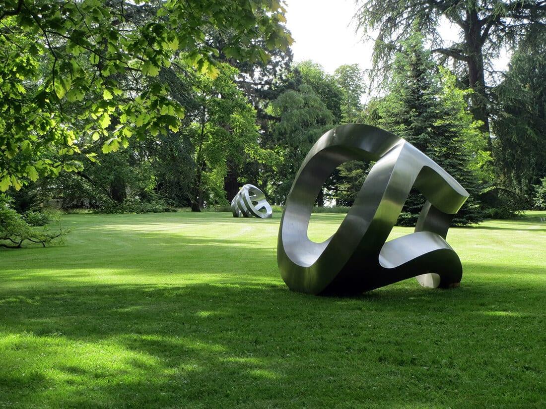 moderne Skulptur metall art 1920