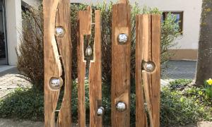 31 Schön Gartendeko Aus Holz Und Metall