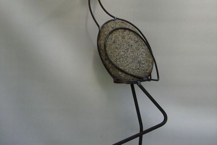 Gartendeko Aus Metall Genial Ciekawie Metalart Schrottkunst