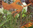 Gartendeko Edelrost Frisch 60cm Bornhöft Gartenstecker Mary Poppins Metall Rost