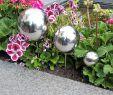 Gartendeko Edelstahl Luxus Garten Gartendeko Pflanzstecker 3er Set Aus Edelstahl Mit
