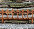Gartendeko Eisen Rostig Genial Beetstecker Zaun Beeteinfassung Antik Stil Eisen Rostig