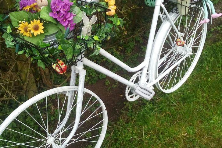 Gartendeko Fahrrad Einzigartig Gartendeko Fahrrad