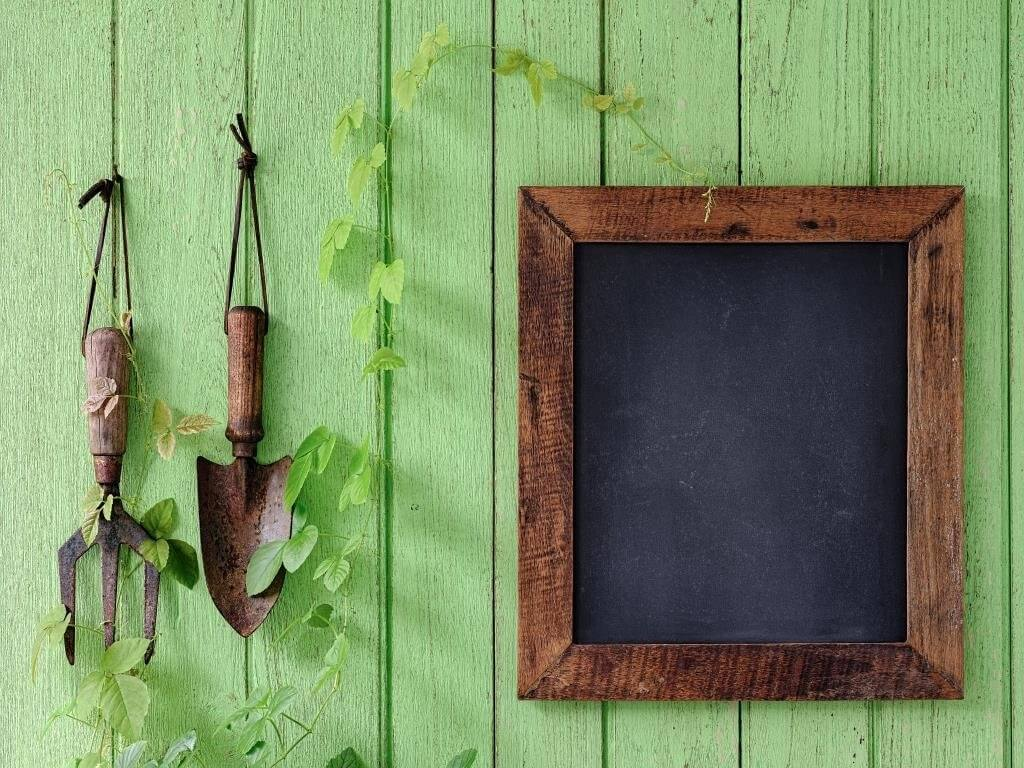 Gartendeko Werkzeug