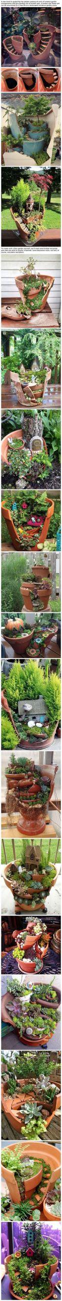 9b9aba627b46c82d7be9aa92e47f32fc fairy garden pots fairies garden