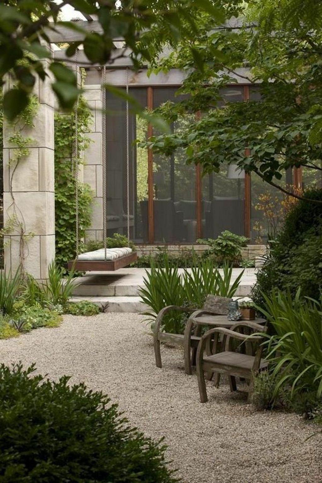 Elegant Terraced Backyard Design Ideas To Makes Your Home Cozy 29