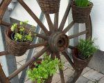 37 Elegant Gartendeko Holzbalken