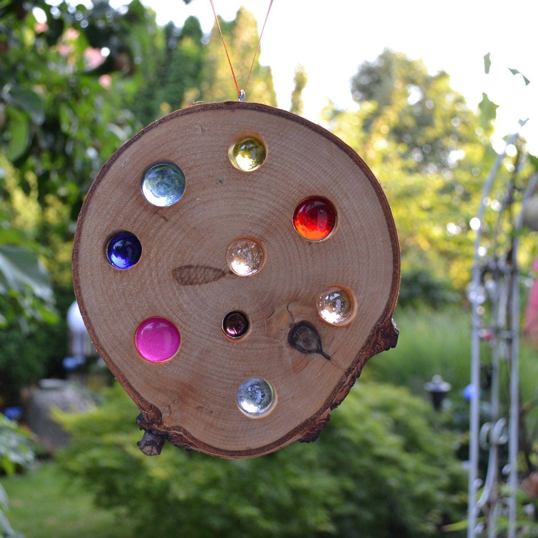 Gartendeko Holzbrett Genial Fensterdeko Gartendeko Anhänger Holz sonnenfänger 15 5 Cm