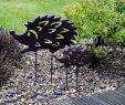 Gartendeko In Rostoptik Neu Gartendeko Schafe Tiere Mw Handel 2er Set Pflanzstecker