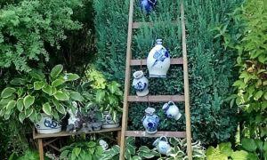 36 Frisch Gartendeko Leiter