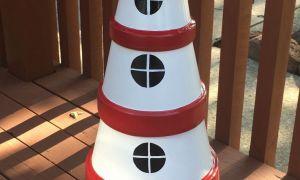 25 Inspirierend Gartendeko Leuchtturm