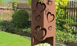 30 Einzigartig Gartendeko Rost Säule