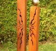 Gartendeko Rost Säule Frisch Gartendeko Shop Rost Säulen 150cm 125cm Mit Risse Und