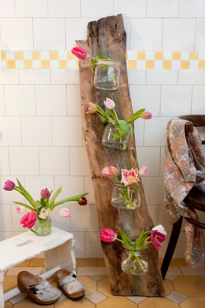 tulpen deko selber machen