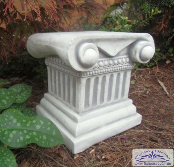 Gartendeko Säule Inspirierend Sa N322 Kleine Säule Mit Kapitell Als sockel Für