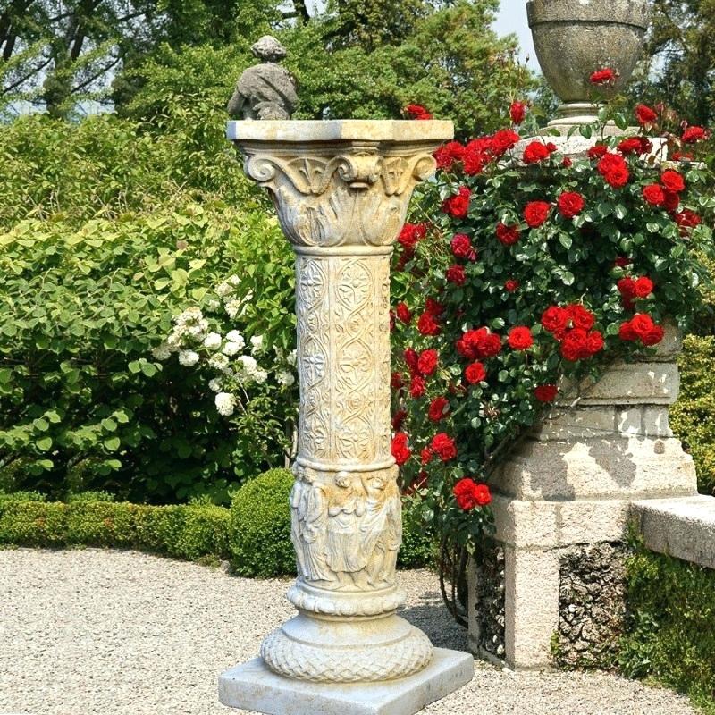 Gartendeko Säule Schön Deko Garten